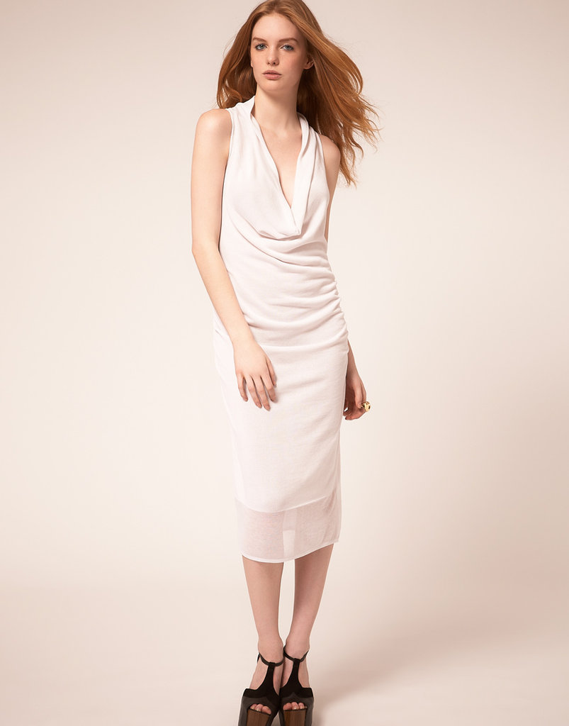 Dagmar Sleeveless Drape Dress ($314)