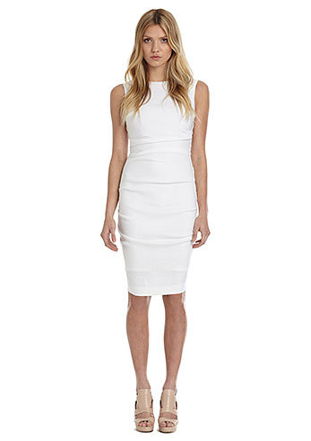 Nicole Miller Stretch Linen Dress ($290)