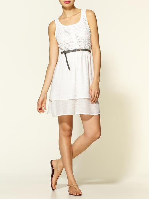71 Stanton Easy Tank Dress With Belt ($148)
