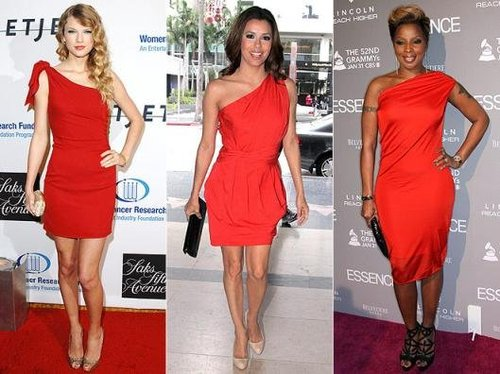 Who Wore It Better? Taylor Swift, Eva Longoria Or Mary J