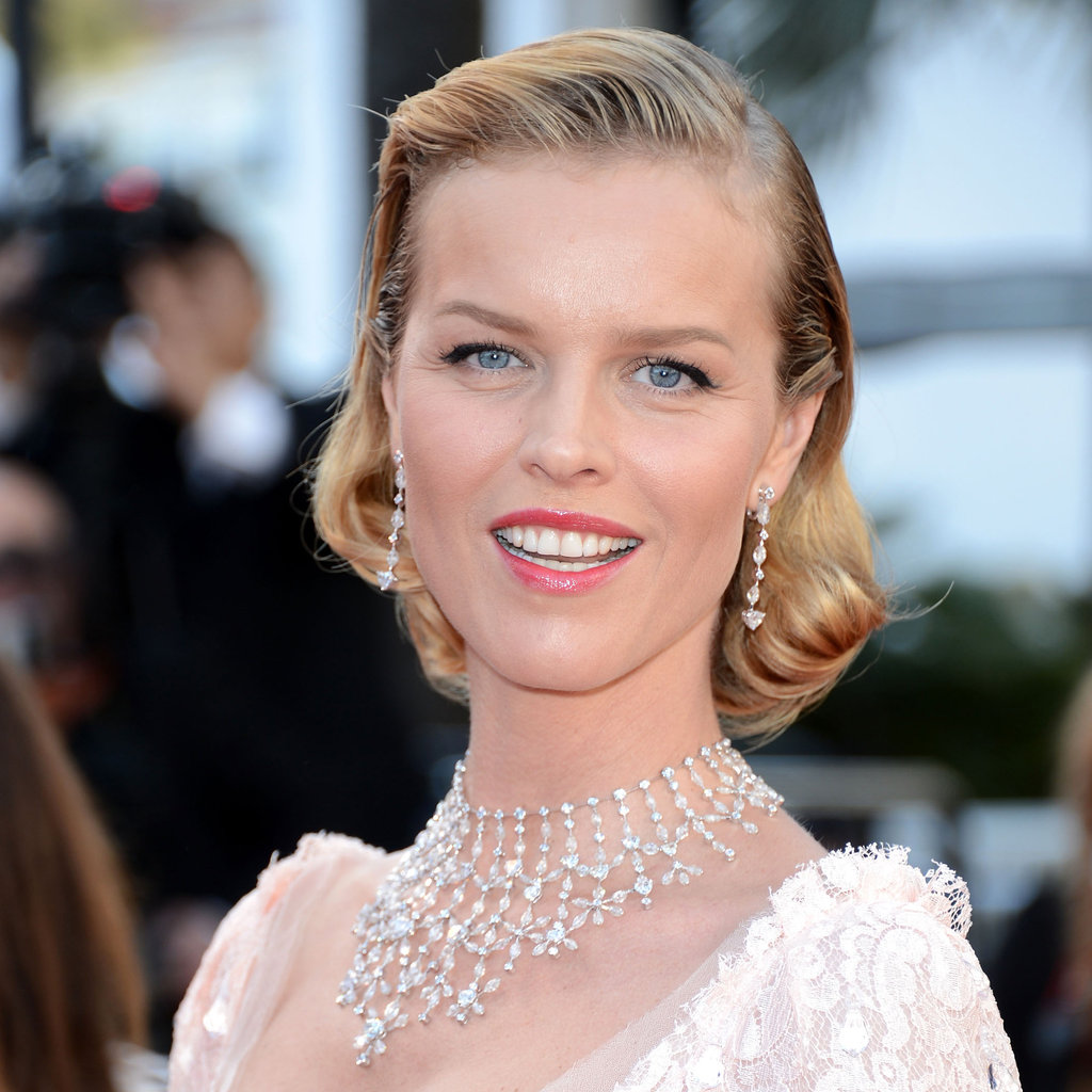 Eva Herzigová at the Moonrise Kingdom Screening