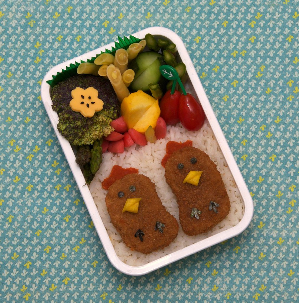Chicken and Rice Bento