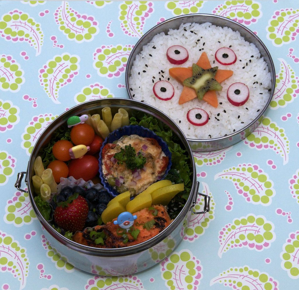 Aquatic-Themed Bento