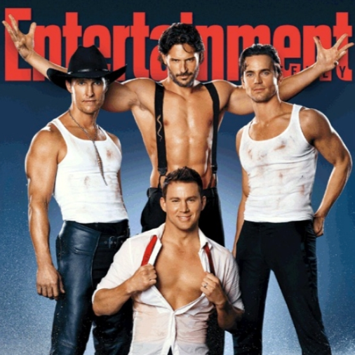 Shirtless Channing Tatum and Magic Mike Cast Pictures in Entertainment Weekly