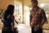 Brian Van Holt and Courteney Cox on Cougar Town. Photo copyright 2012 ABC, Inc.