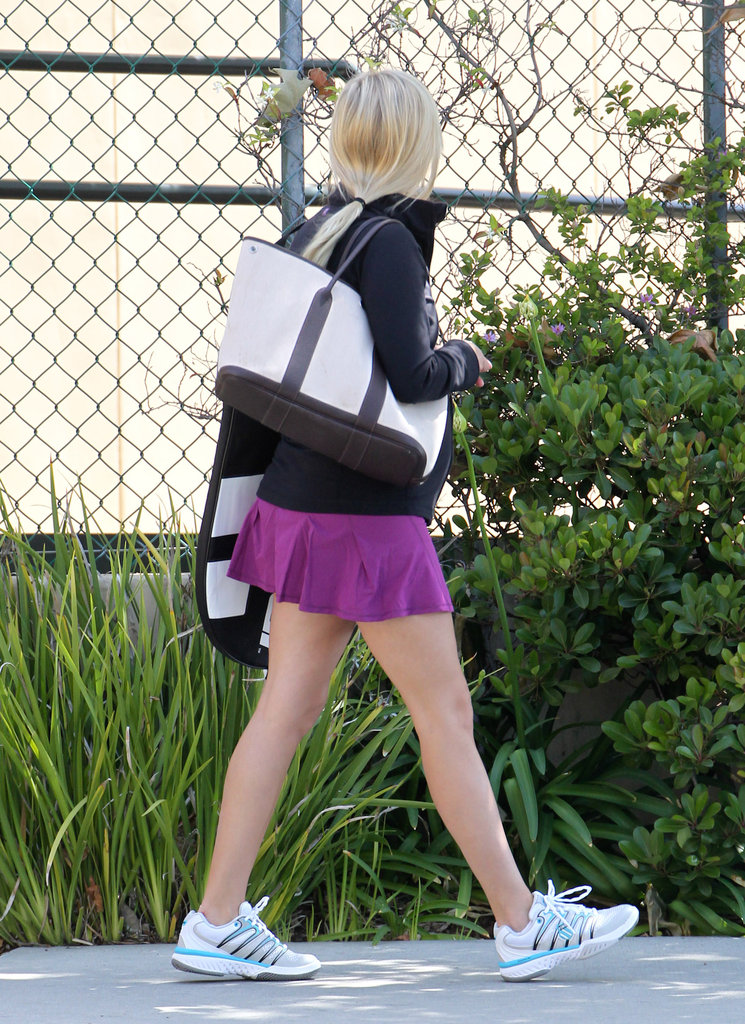 Reese Witherspoon hit the pavement.