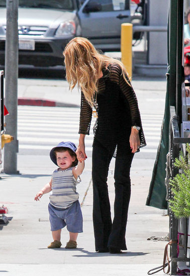 Skyler Shows Off His Walking Skills With a Hand From Rachel Zoe