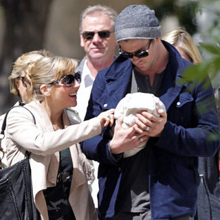 Chris Hemsworth Elsa Pataky Baby India Pictures