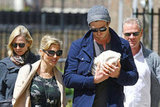 Chris Hemsworth and Elsa Pataky Step Out With New Baby India