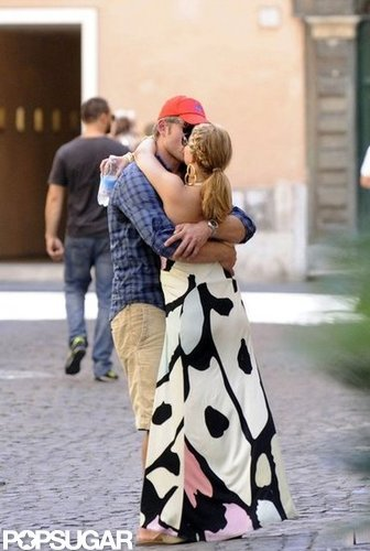 Jessica Simpson spent her birthday weekend on a July 2010 trip to Capri, Italy, with Eric Johnson and a group of friends and family.