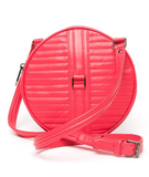 Soup up the brightness factor of your circle bag by way of this bold coral pink color. Reece Hudson No. 3 Circle Bag ($695)