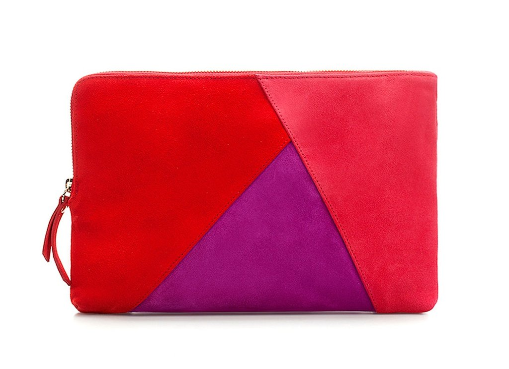 If you're going to go retro, try a pretty patchwork design à la the '70s greatest fashion hits. The best part about this clutch? It doubles as a chain shoulder bag. Zara Patchwork Clutch Bag ($90)