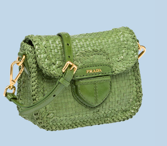 Prada's new limited edition capsule collection Le Voyageur nails the cool, colorful raffia vibe. And because we don't know how much longer these slick totes will be around for, we suggest you snag one while you still can.  Prada Limited Edition Braided Madras Messenger ($1,361)