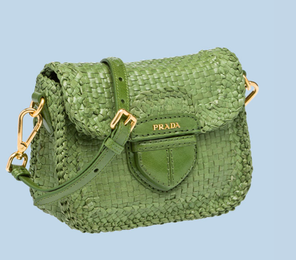 Prada's new limited edition capsule collection Le Voyageur nails the cool, colorful raffia vibe. And because we don't know how much longer these slick totes will be around, we suggest you snag one while you still can.  Prada Limited Edition Braided Madras Messenger ($1,361)