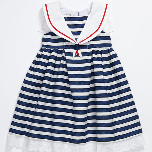 Product Description out at sea. The sunny Sailor girl child costume is a dress with a.