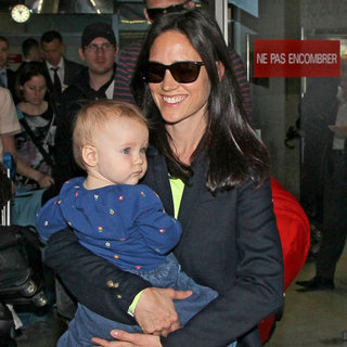Jennifer Connelly With Baby Agnes at Cannes Pictures