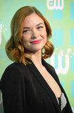 Jaime King showed off her new red locks at the CW Upfront in NYC.