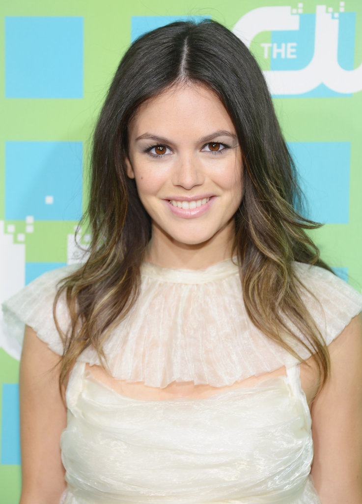 Rachel Bilson looked gorgeous in a white lacy dress.