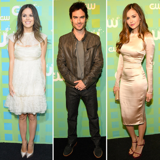 Ian Somerhalder, Nina Dobrev, and Rachel Bilson Bring the Heat to the CW Upfronts