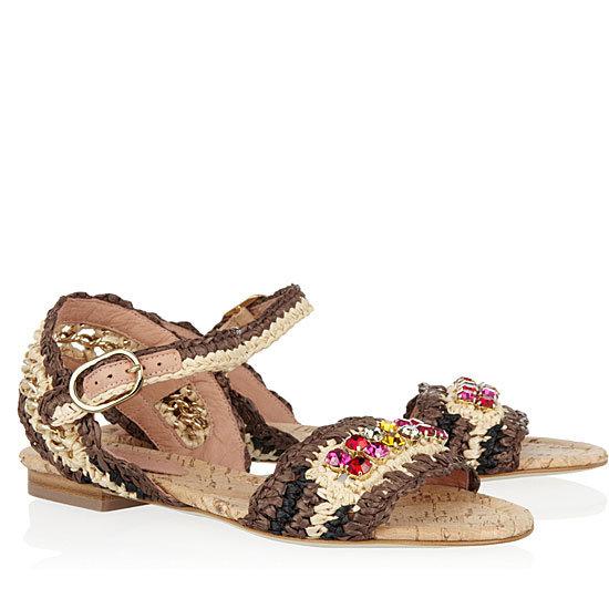 Embellished Sandals Spring 2012