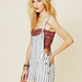 The stripes will make this a perfect pair for adding in other patterns and working the whole mixed-prints angle.