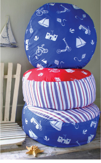 Pixie Dust Decor Boys Toys Pouf Floor Pillow