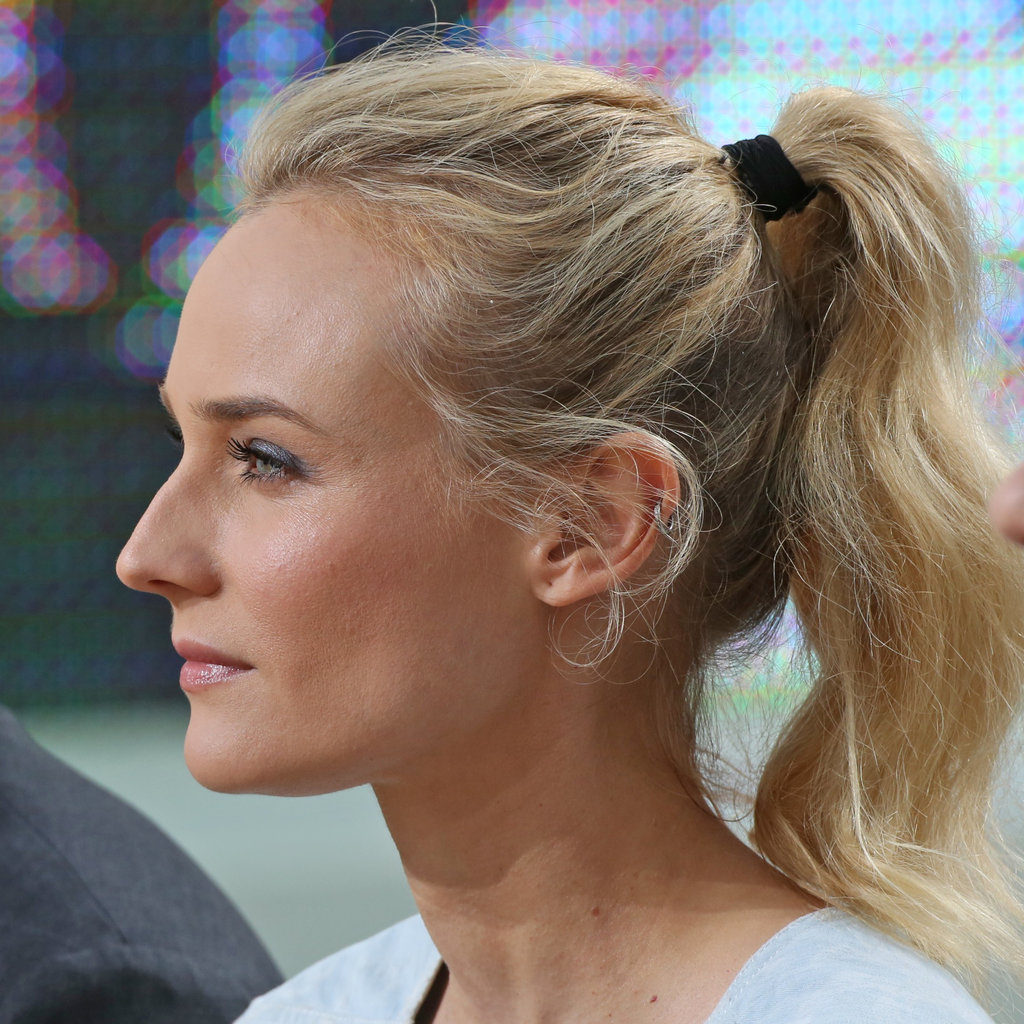 Diane Kruger During Her Le Grand Journal Interview