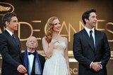 Ben Stiller, Jessica Chastain, and David Schwimmer arrived in Cannes for the premiere of Madagascar 3: Europe's Most Wanted.