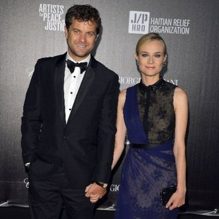 Diane Kruger and Joshua Jackson Haiti: Carnival in Cannes Event Pictures