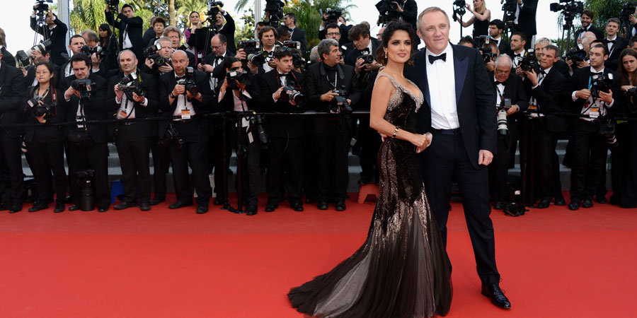 Salma Hayek and Several Hollywood Leading Ladies Join the Men of Madagascar 3 in Cannes