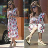 Eva Mendes Free People Dress May 2012