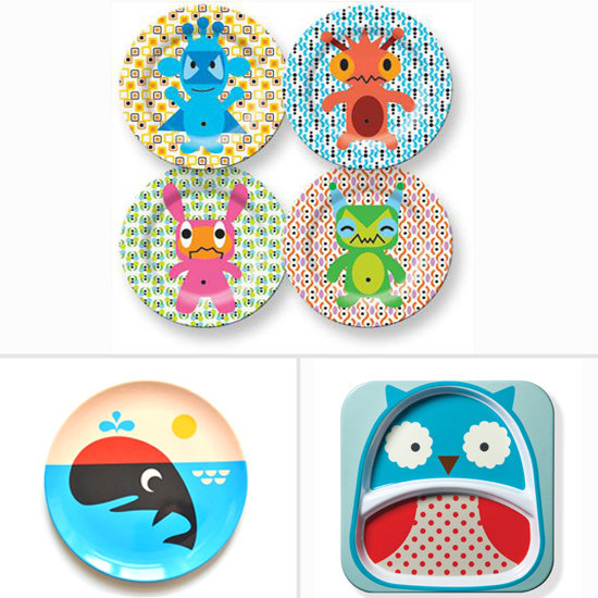 Take It Outside: Modern Melamine Plates for Kids' Outdoor Dinnertime
