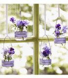 Crafts: Hanging Baby-Food Jar Vases
