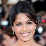Freida Pinto's L'Oreal Makeup at Cannes Film Festival