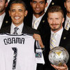 Obama and the LA Galaxy