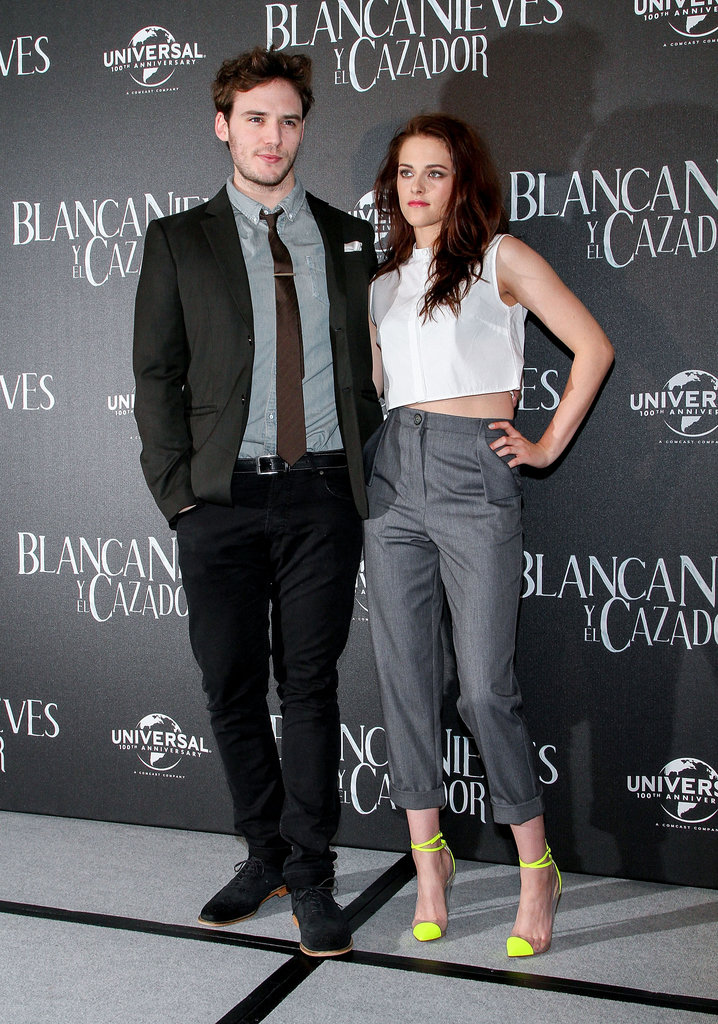 Kristen Stewart and Sam Claflin in Mexico.