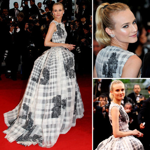 See Diane Kruger&#039;s Christian Dior Gown From All Angles at the Therese Desqueyroux Premiere at 2012 Cannes Film Festival