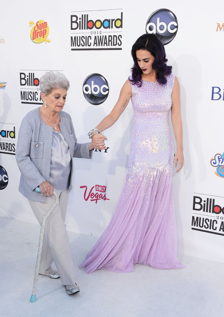 Katy Perry took her grandma to the Billboard Awards in Las Vegas on May 20.