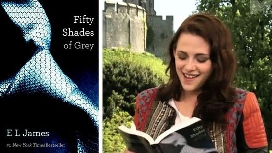 Video: See Kristen Stewart Read Fifty Shades of Grey!