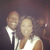 Oprah posed for photos with Tyrese during an event in Atlanta.  Source: Instagram user oprahwinfrey