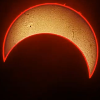 Solar Eclipse Time-Lapse Video