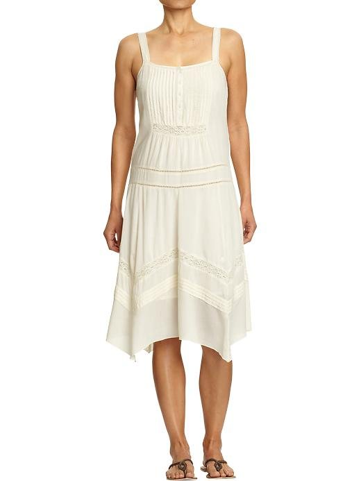 An everyday dress with lace trim that makes it feel a lot more special. Old Navy Lace-Trim Drop-Waist Dresses ($23, originally $40)