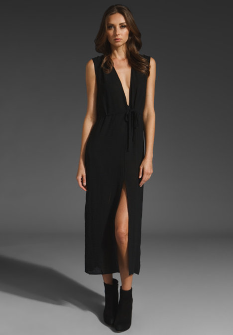 Make a sultry entrance in this pretty, low-cut LBD.  Cheap Monday Debra Dress ($75)