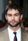 Chace Crawford flashed his blues eyes for the camera in London at the premiere of What to Expect When You're Expecting.