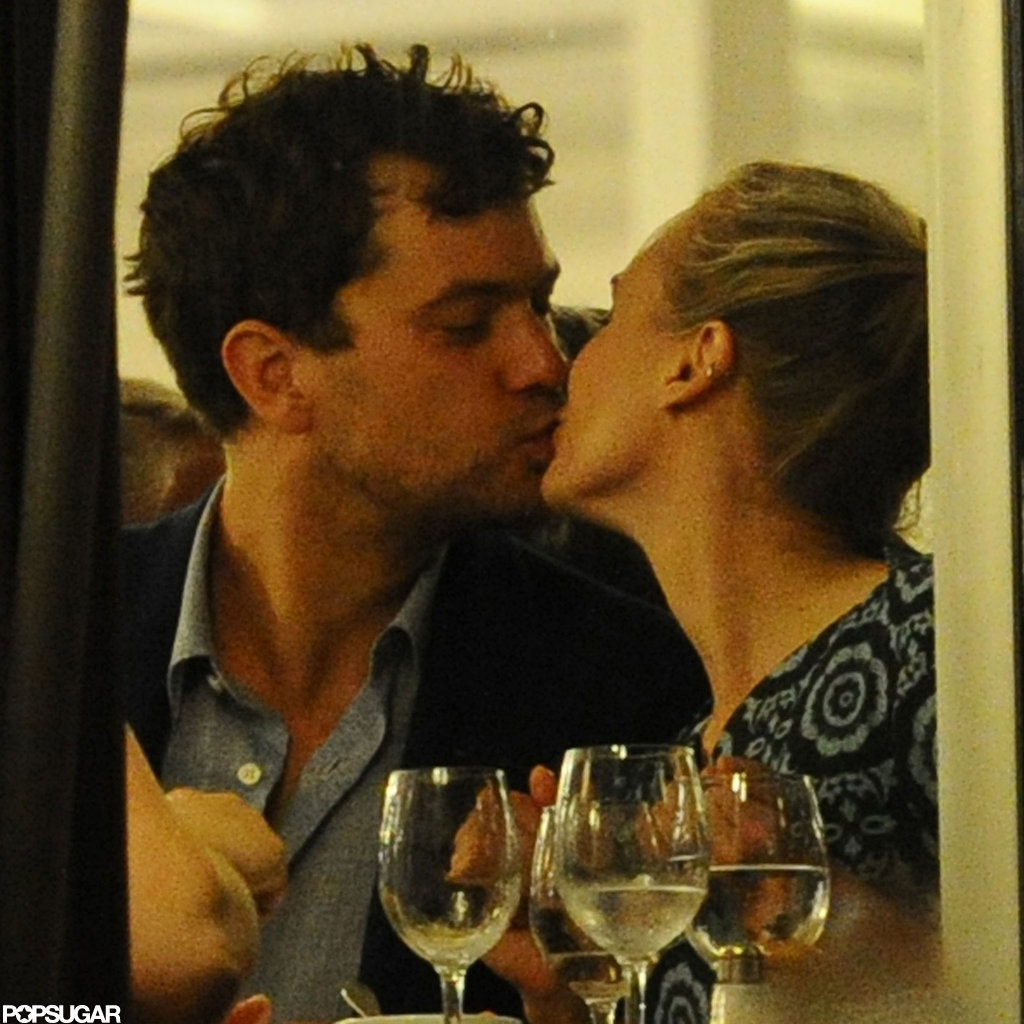 Joshua Jackson and Diane Kruger kissed.