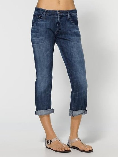 "Goldsign Hisjean Cropped Boyfriend Jeans ($202) Denim expert soundoff: ""This boyfriend jean is for a girl who is not too curvy in the hips with a tomboy attitude."" — Adriano Goldschmied, Goldsign founder and creative director"