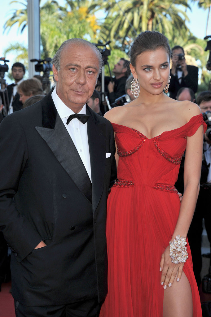 Irina Shayk sizzled in an off-the-shoulder red number at the Killing Them Softly premiere.