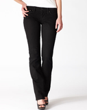 Levi's Modern Bold Curve Straight Jeans in Pitch Black ($68)