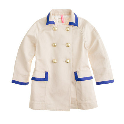 Crewcuts Girls' On-a-Stroll Trench Coat ($100)