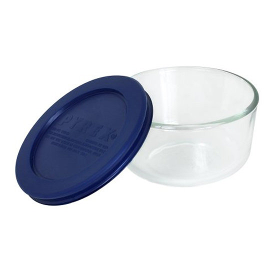 Pyrex Storage One-Cup Round Dish With Cover